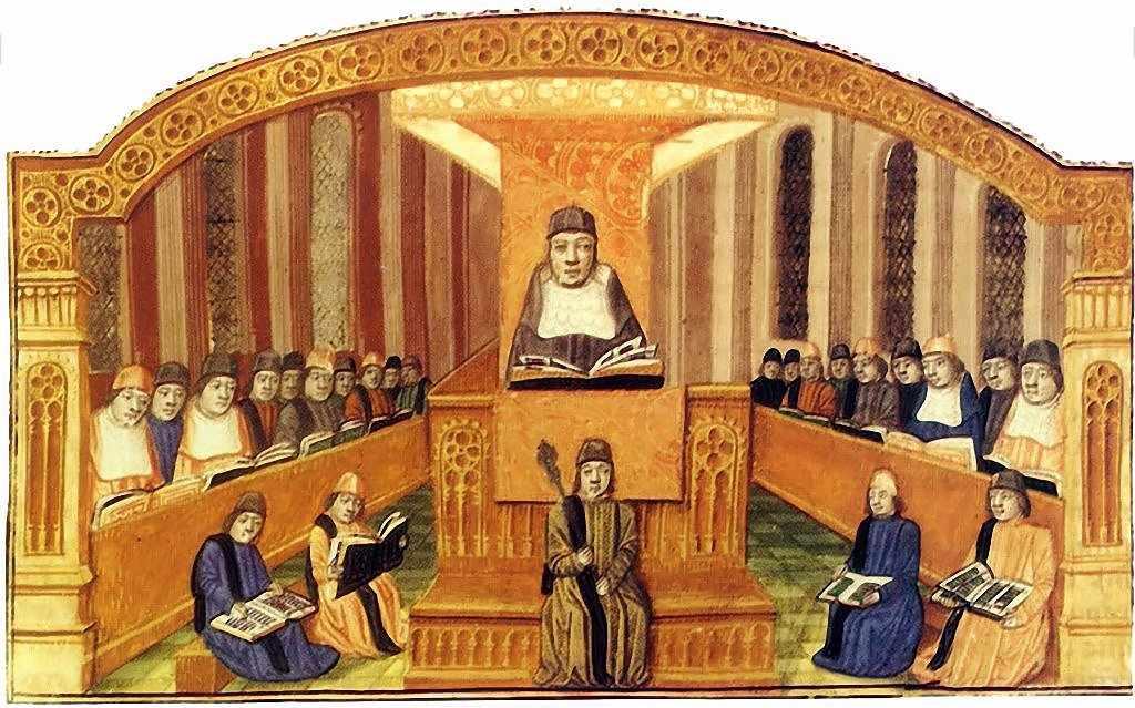 Resultado de imagem para pedagogia medieval]